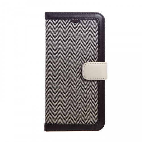 iPhone6_Herringbone_Diary_Black_01