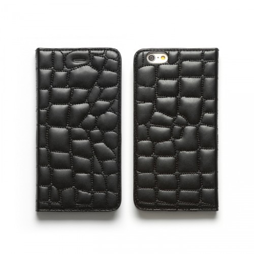 700_iPhone6_CrocoQuiltingDiary_Black