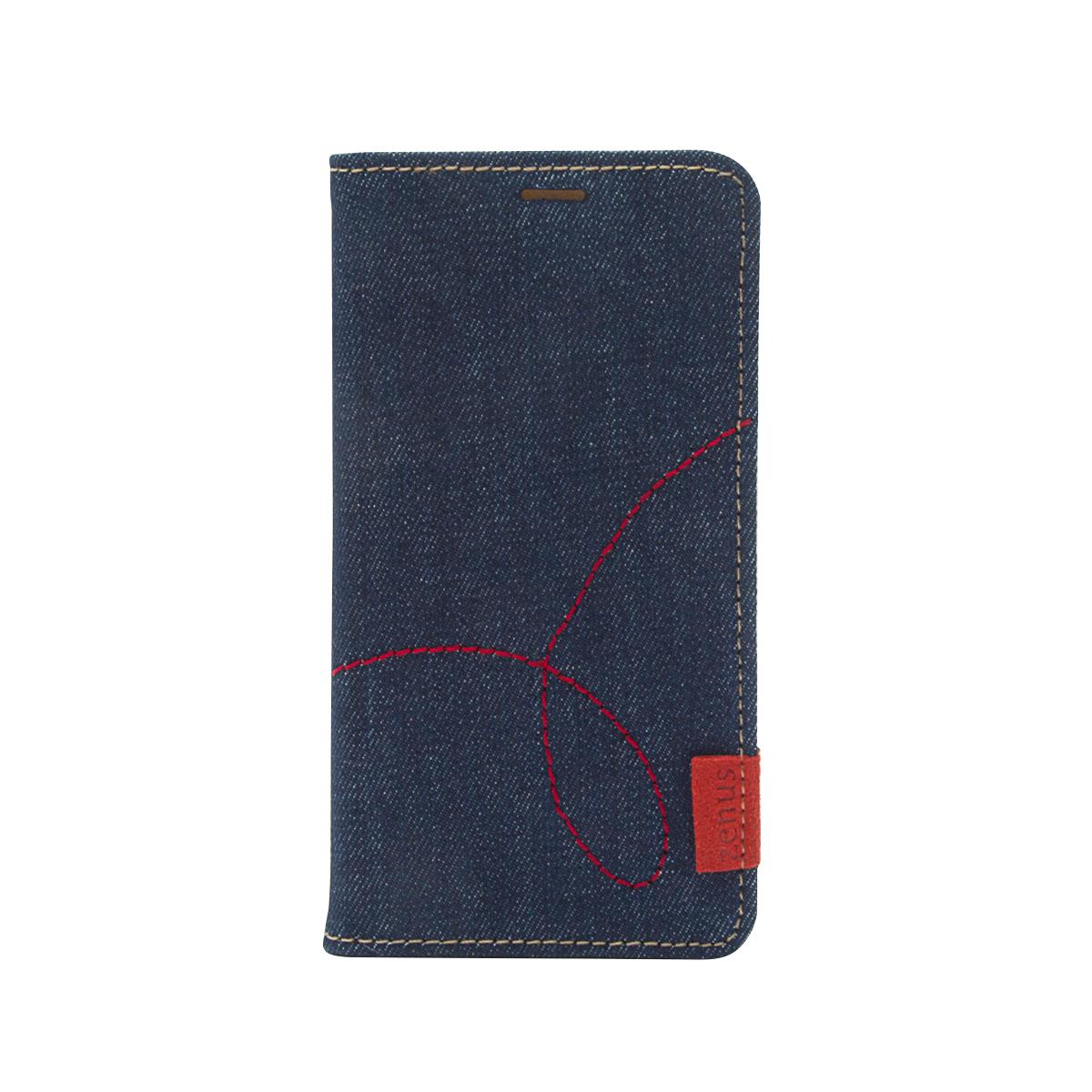 0dd452b3b9 iPhone XR ケース 手帳型 ZENUS Denim Stitch Diary(ゼヌス デニムステッチダイアリー)